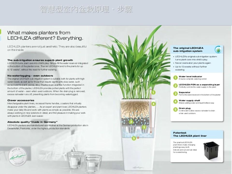 智慧型室內盆栽|智慧型室內盆栽優點