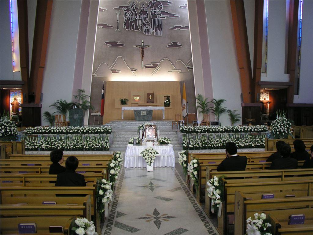 西方喪禮會場|西方喪禮會場佈置